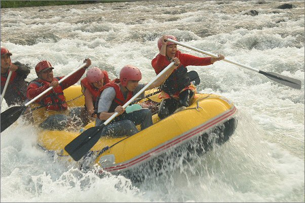 White Water Rafting in Cagayan de Oro City photo 1